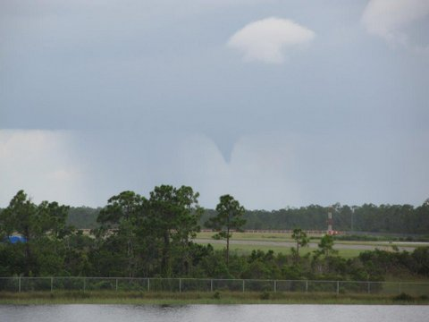 Funnel Cloud, Indiantown, FL, May 2013
